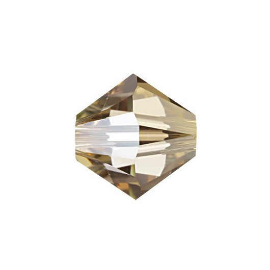 Bicono 5328 Swarovski Crystal Golden Shadow
