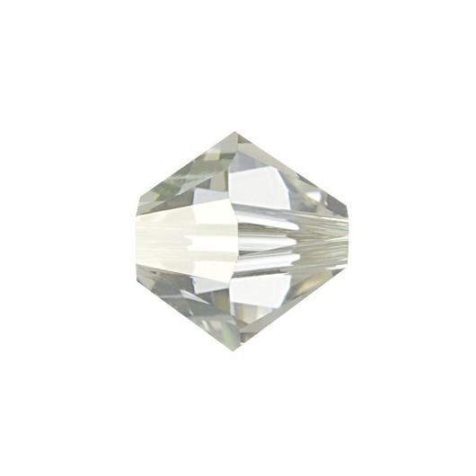 Bicono 5328 Swarovski Crystal Silver Shade