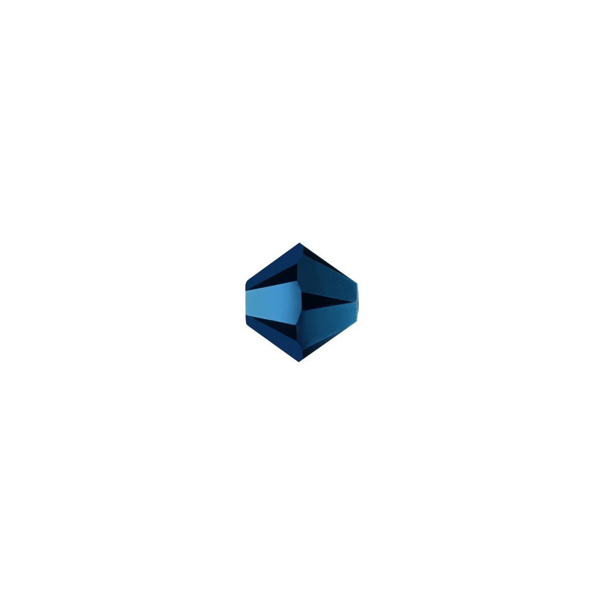 Bicono 5328 Swarovski Metallic Blue 2X