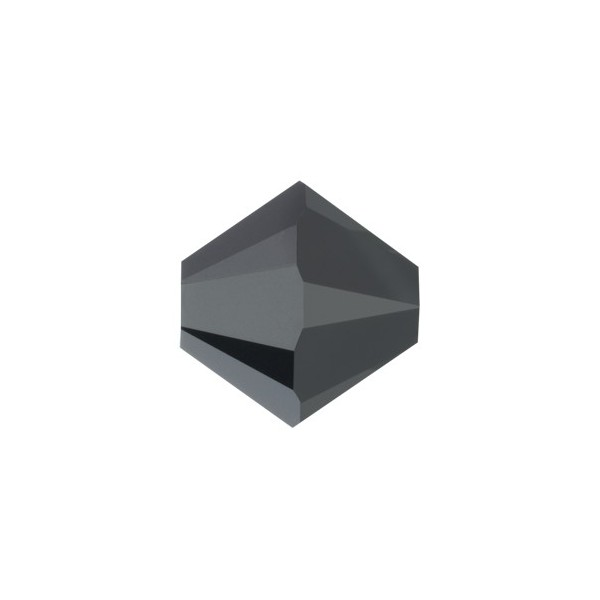 Bicono 5328 Swarovski Hematite 2X