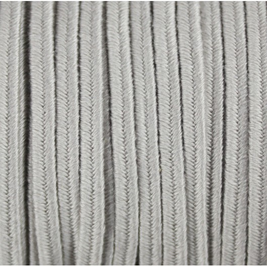 Soutache Cotton Grey 4mm 3 metres