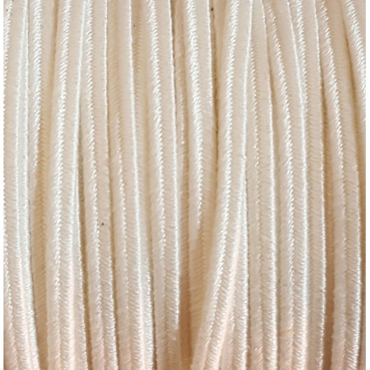 Soutache Cotton Milk 4mm 3 metres