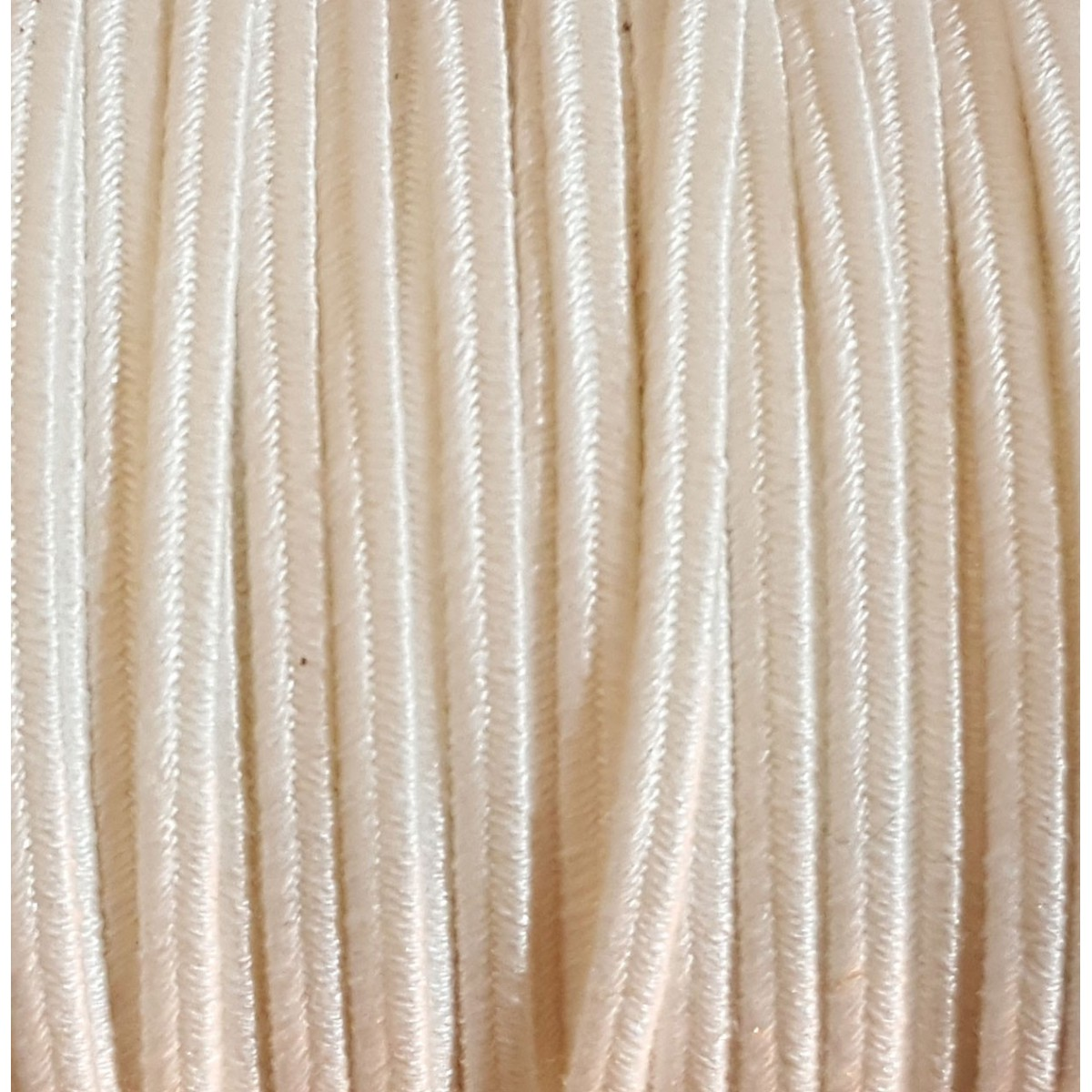 Soutache Cotton Bianco mm 4,0 x 3mt