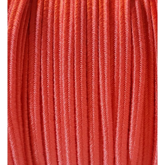 Soutache Cotton Coral 4mm 3 metres