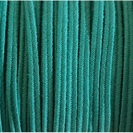 Soutache Cotton Emerald 4mm 3 metres
