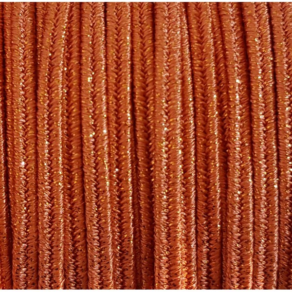 Soutache Metal Aragosta mm 4,0 x 3mt