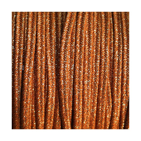 Soutache Metal GINSENG mm 4,0 x 3mt
