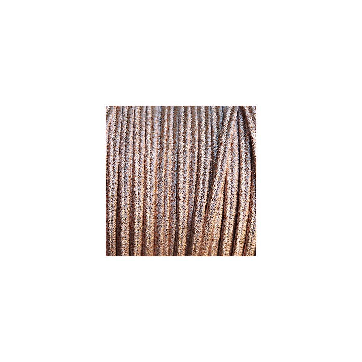 Soutache Metal MUD mm 4,0 x 3mt