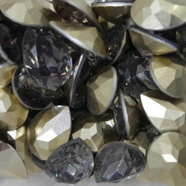 Cabochon Goccia Acrilico 18x13 BLACK DIAMOND