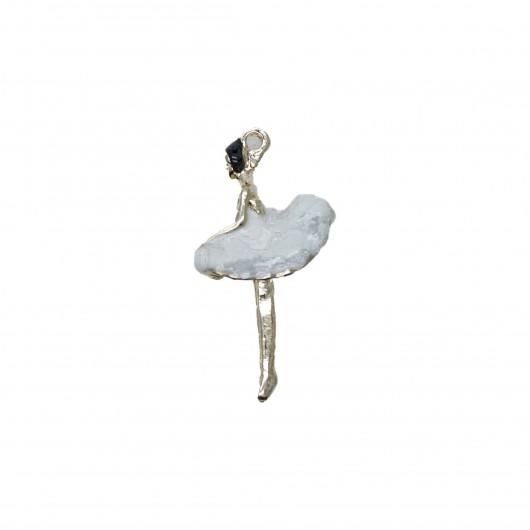 Charms Ballerina Bianca 20x15mm