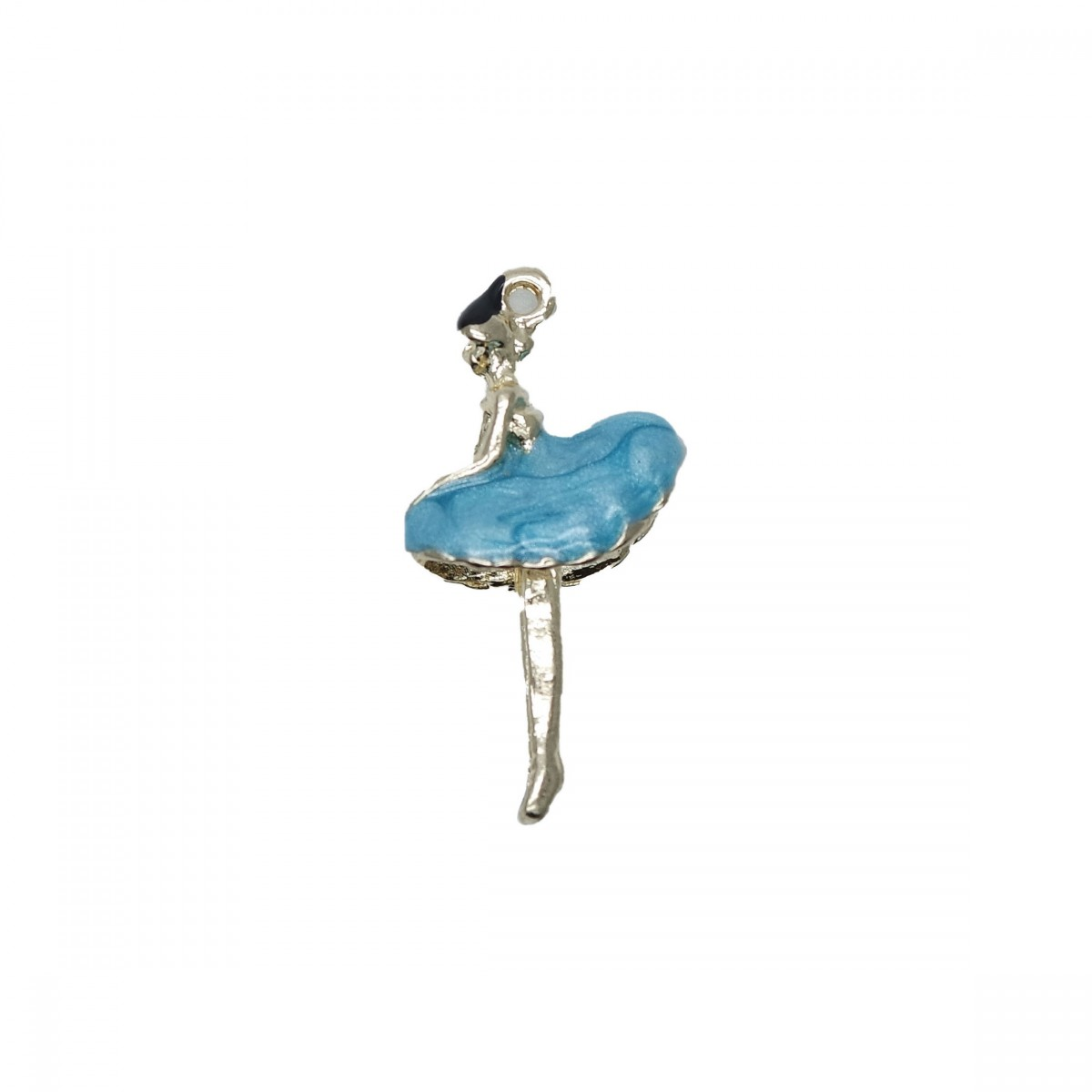 Charms Ballerina Turchese 20x15mm
