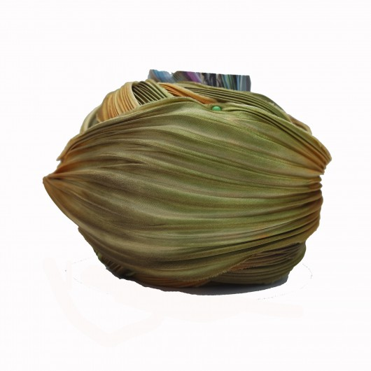 Shibori Silk Acorn x15cm
