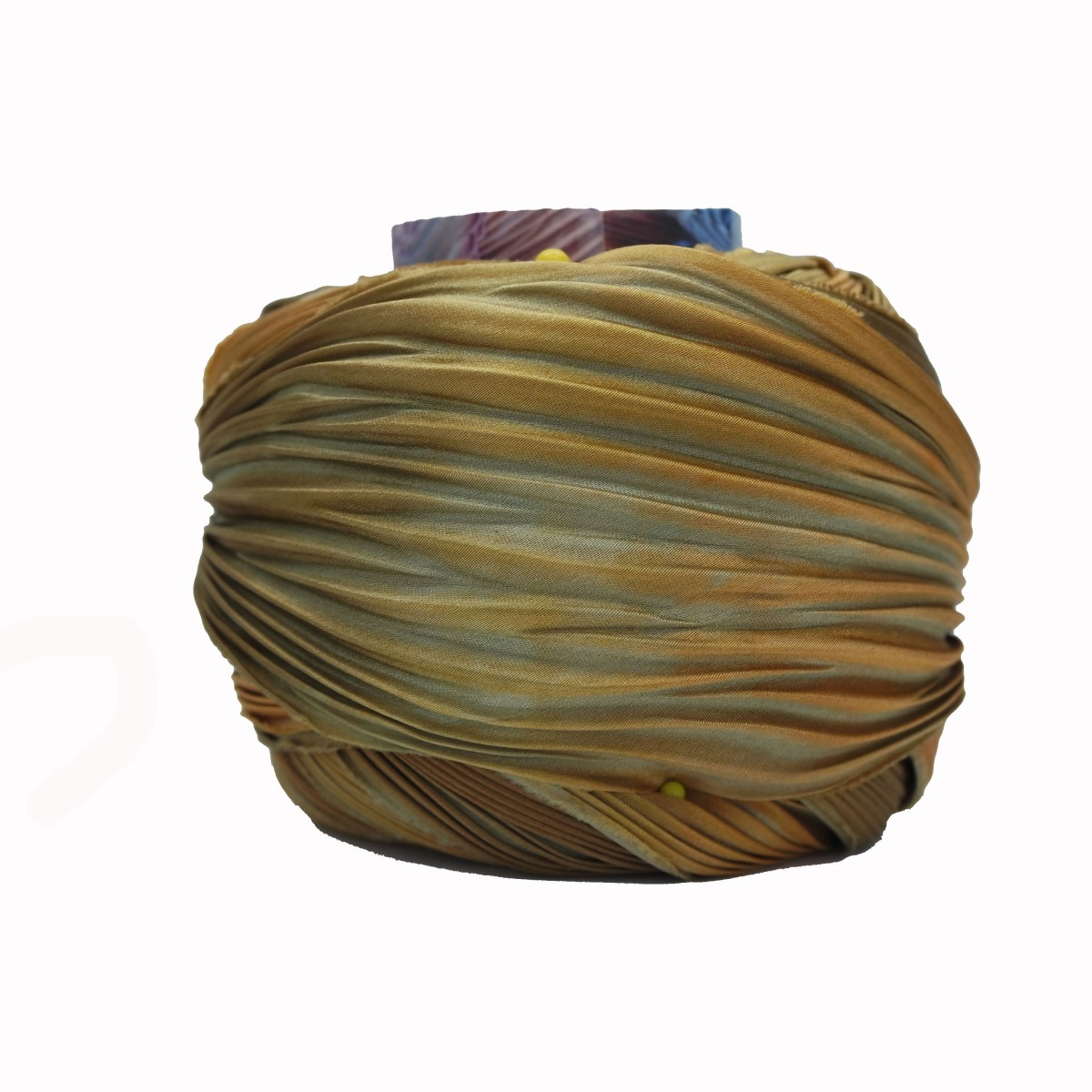 Shibori Silk Earth Bound x15cm