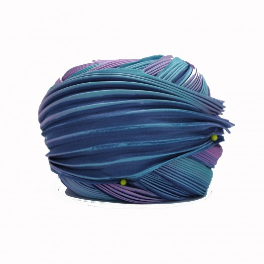 Shibori Silk Longwood x15cm