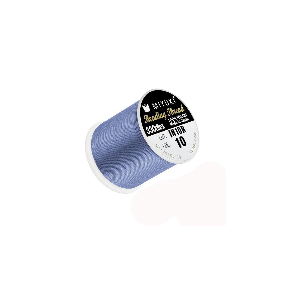 Filo Miyuki Colore Azzurro 10, 0.2mm,  50mt