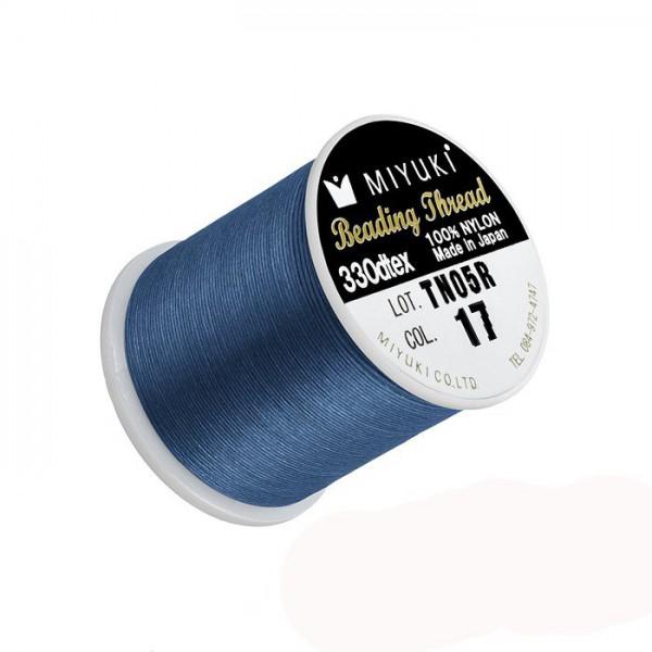 Filo Miyuki Colore Blue 17, 0.2mm,  50mt