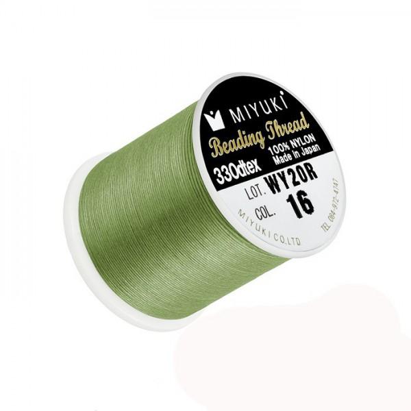 Filo Miyuki Verde Lemon Col 16, 0.2mm,  50mt