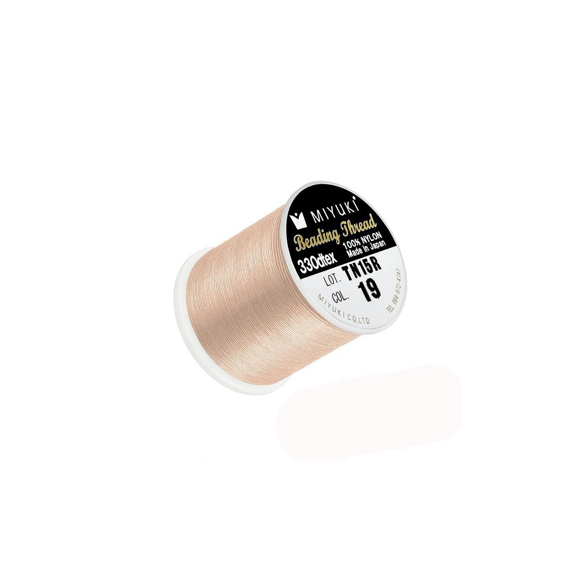 Filo Miyuki Silk Col 19 0.2mm,  50mt