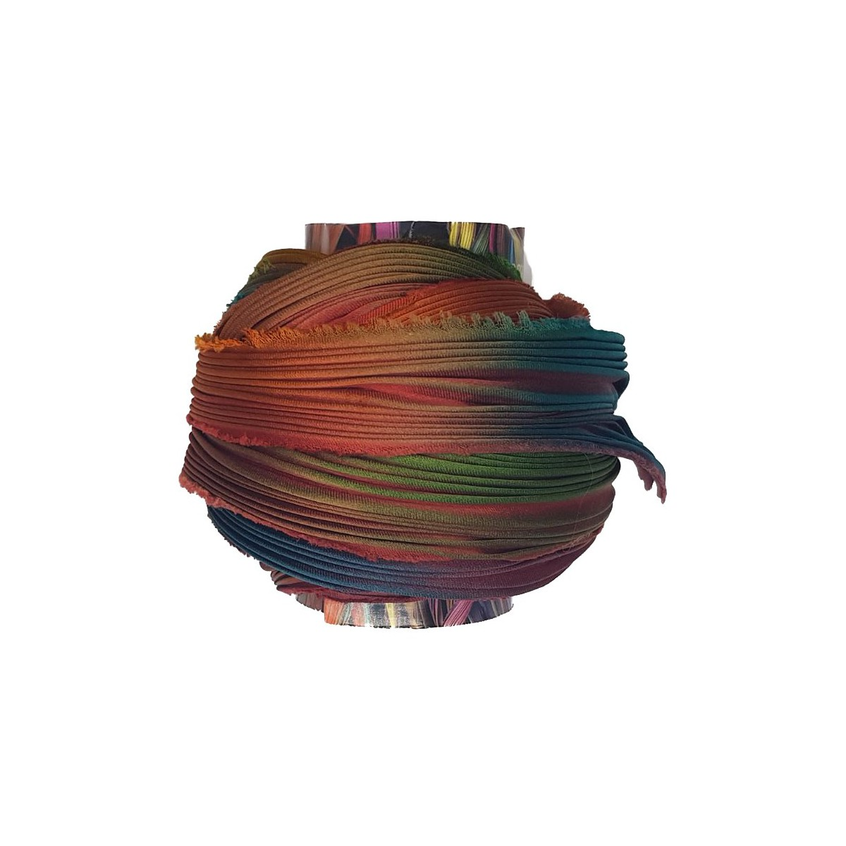 Shibori Silk Fall Borealis x15cm