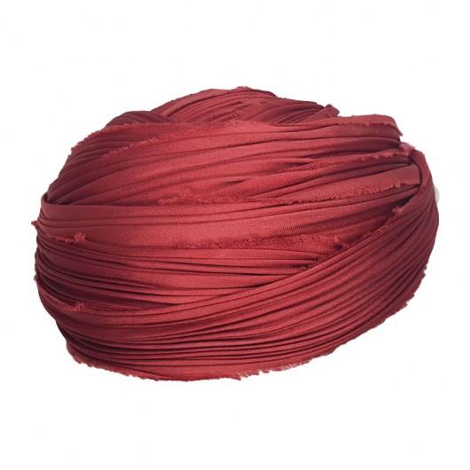 Shibori Silk Solid Red x15cm