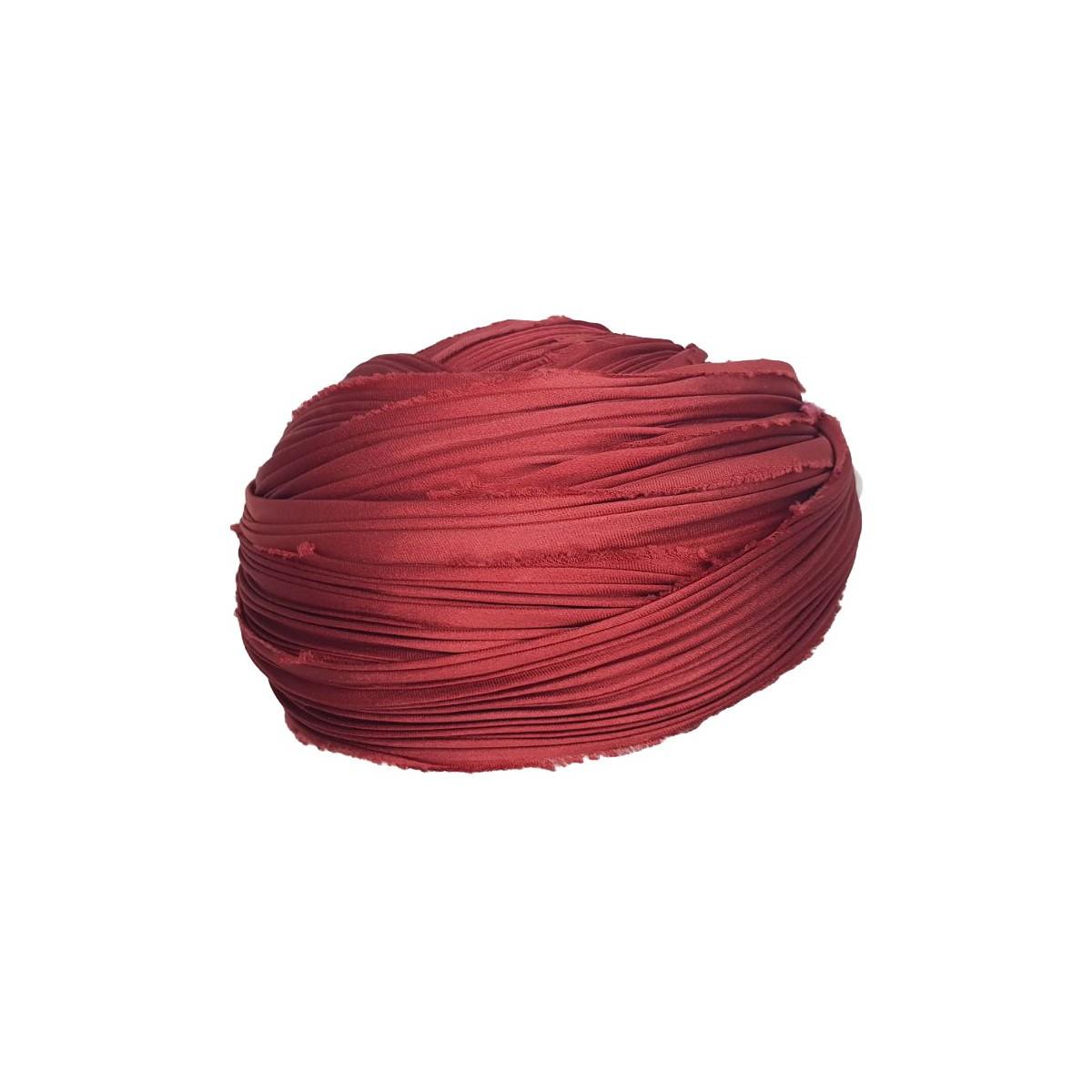 Seta Shibori Solid Red x15cm
