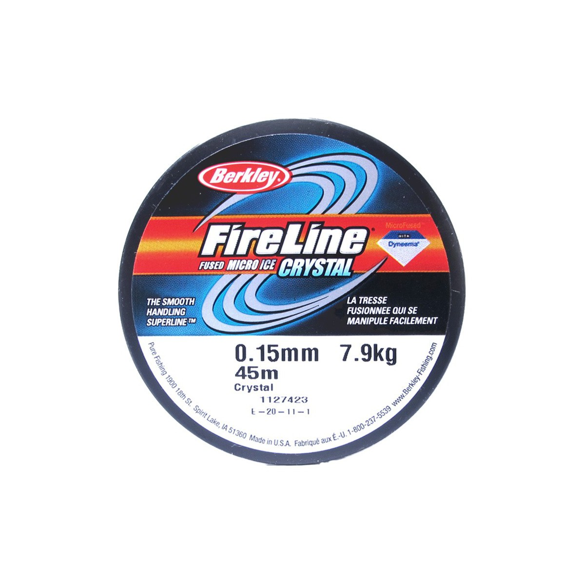 Filo Fireline Crystal 0.15MM 46 Metri