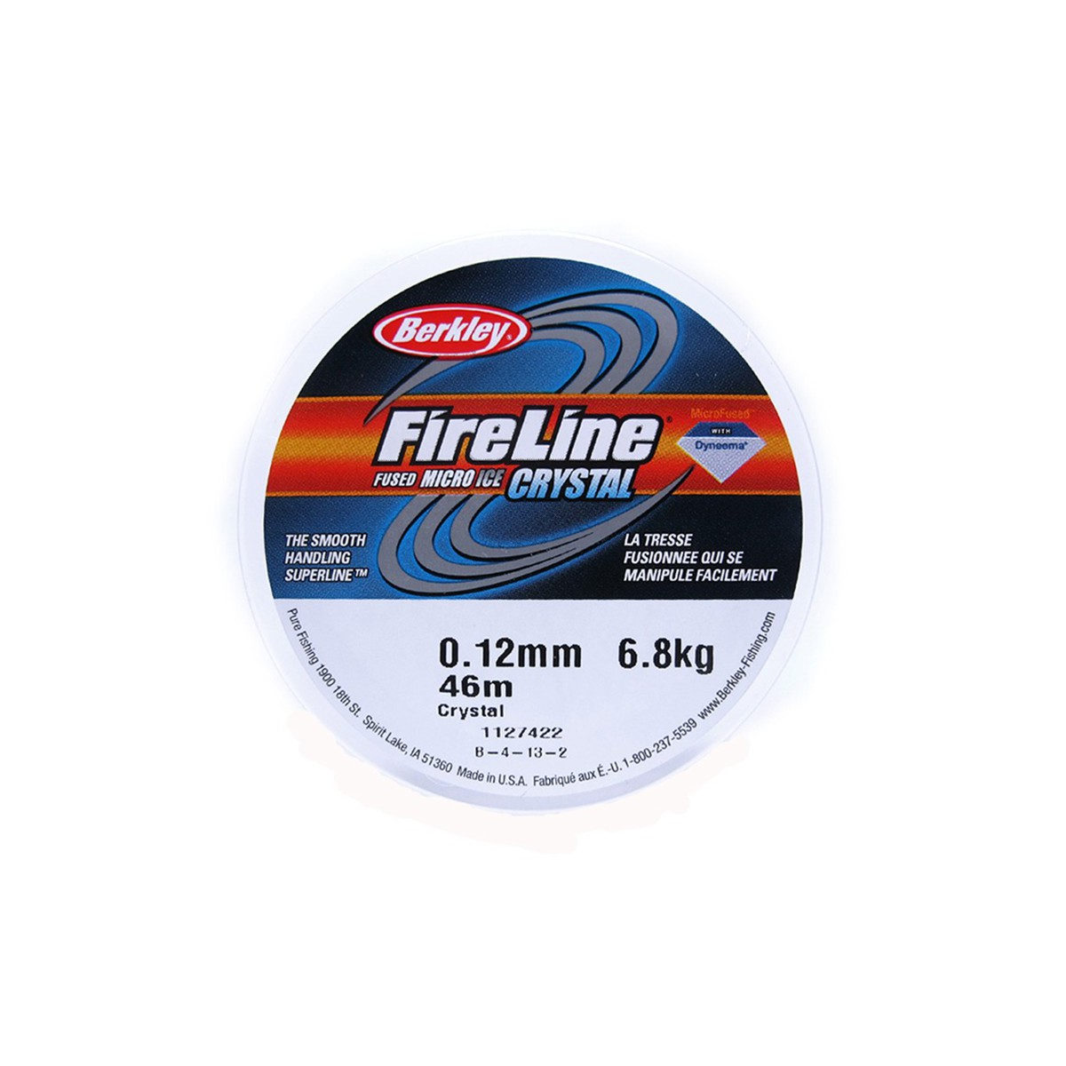 Filo Fireline Crystal 0.12MM 46 Metri