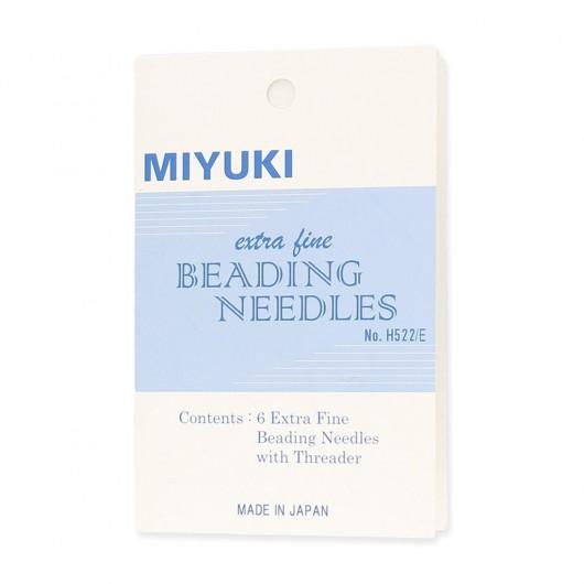 Kit 6 Aghi Miyuki Extra fine Beading