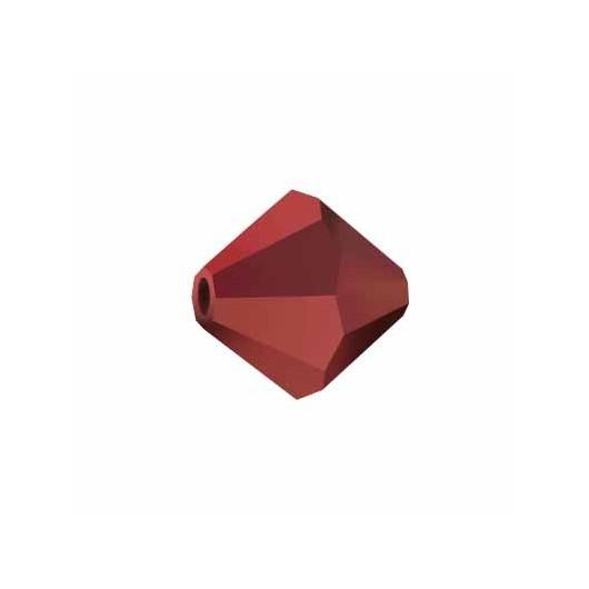 Bicono 5328 Swarovski Dark Red Coral