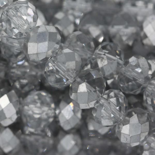 Rondelle in Cristallo Sfaccettato 8x6mm CAL