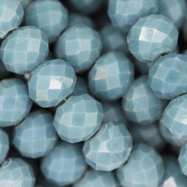 Rondelle in Cristallo Sfaccettato 8x6mm SEA OPAL