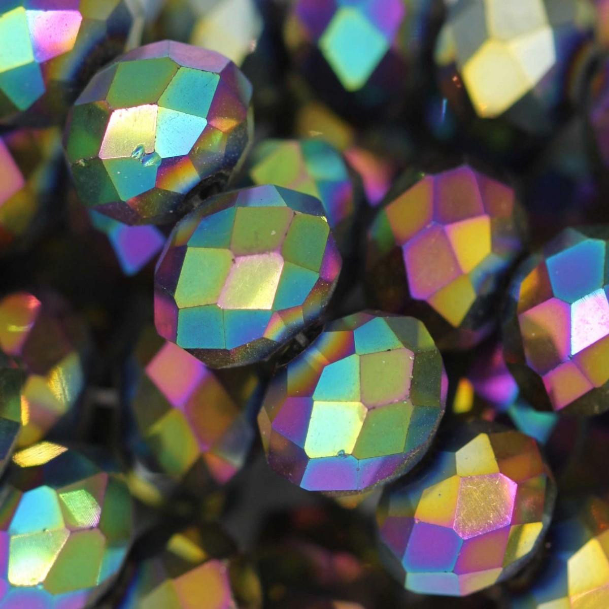 Rondelle in Cristallo Sfaccettato 10x8mm DISCO