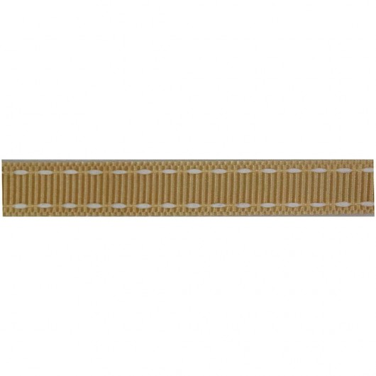 Grosgrain with Cotton 9mm roll - 24 Metres