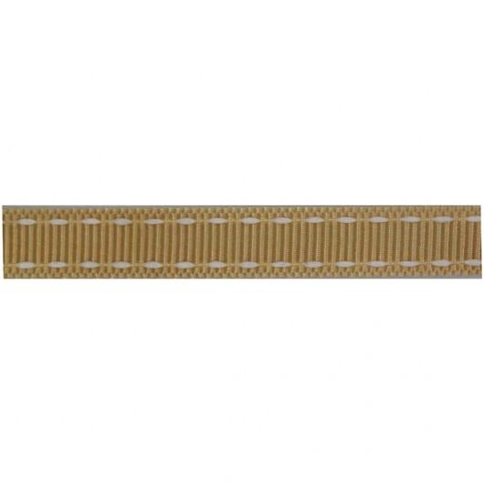 Grosgrain con Impuntura Cotone 9mm Bobina 24 Metri