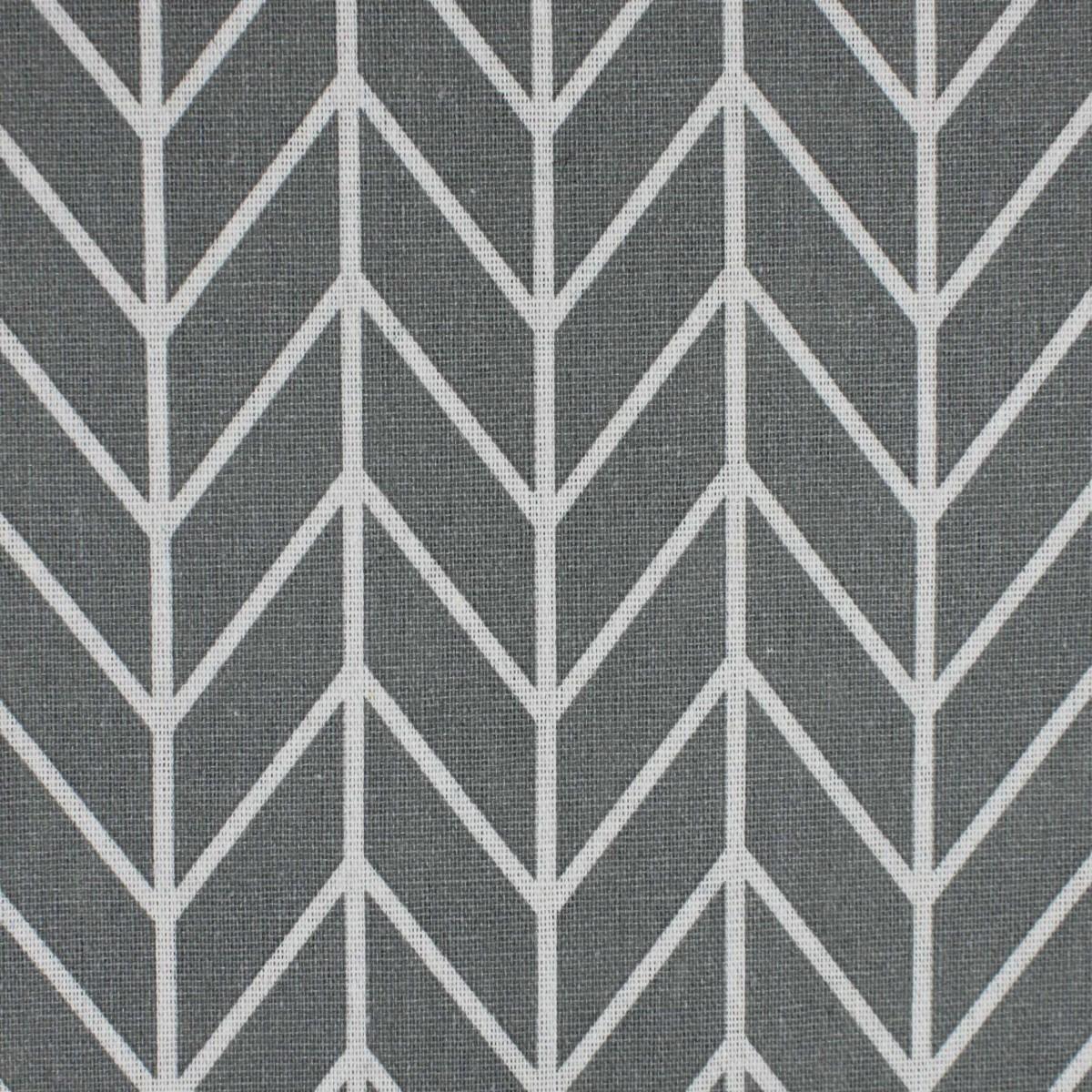Stoffa Stampata Grigia con linee 100x150cm