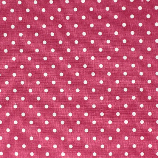 Printing Fabric Red with pois 100x150cm
