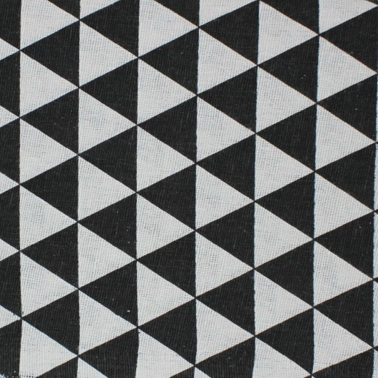 Printing Fabric Black Triangle 100x150cm