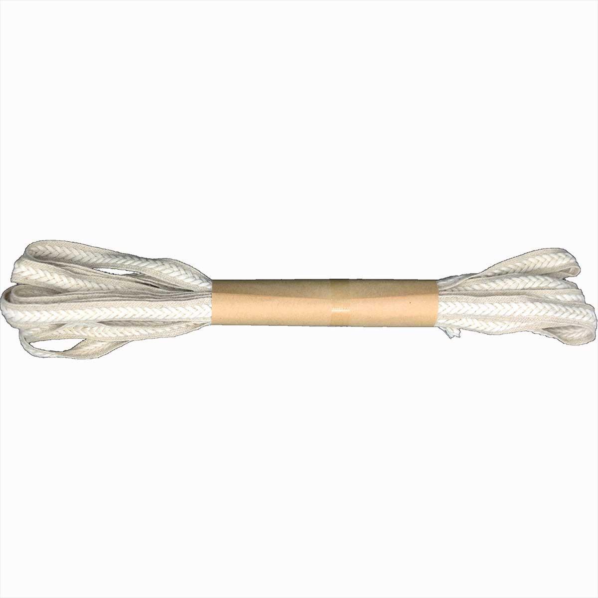 Corda Piatta con treccia 12mm - 5 metri