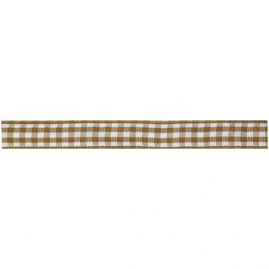 Checkered Ribbon 10mm 24 metres
