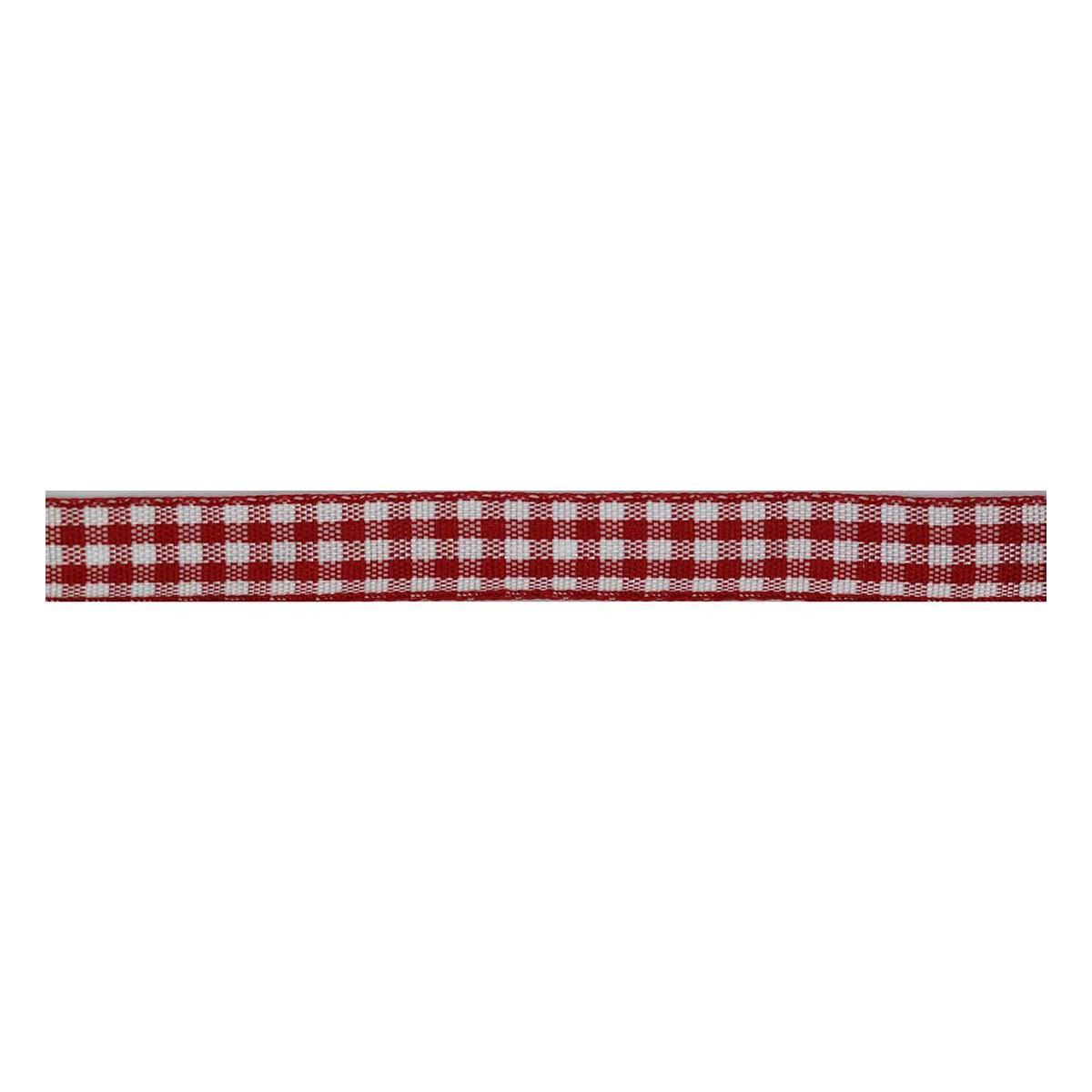Checkered Ribbon 9mm 24 metres