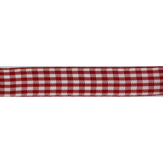 Checkered Ribbon 16mm 18 metres