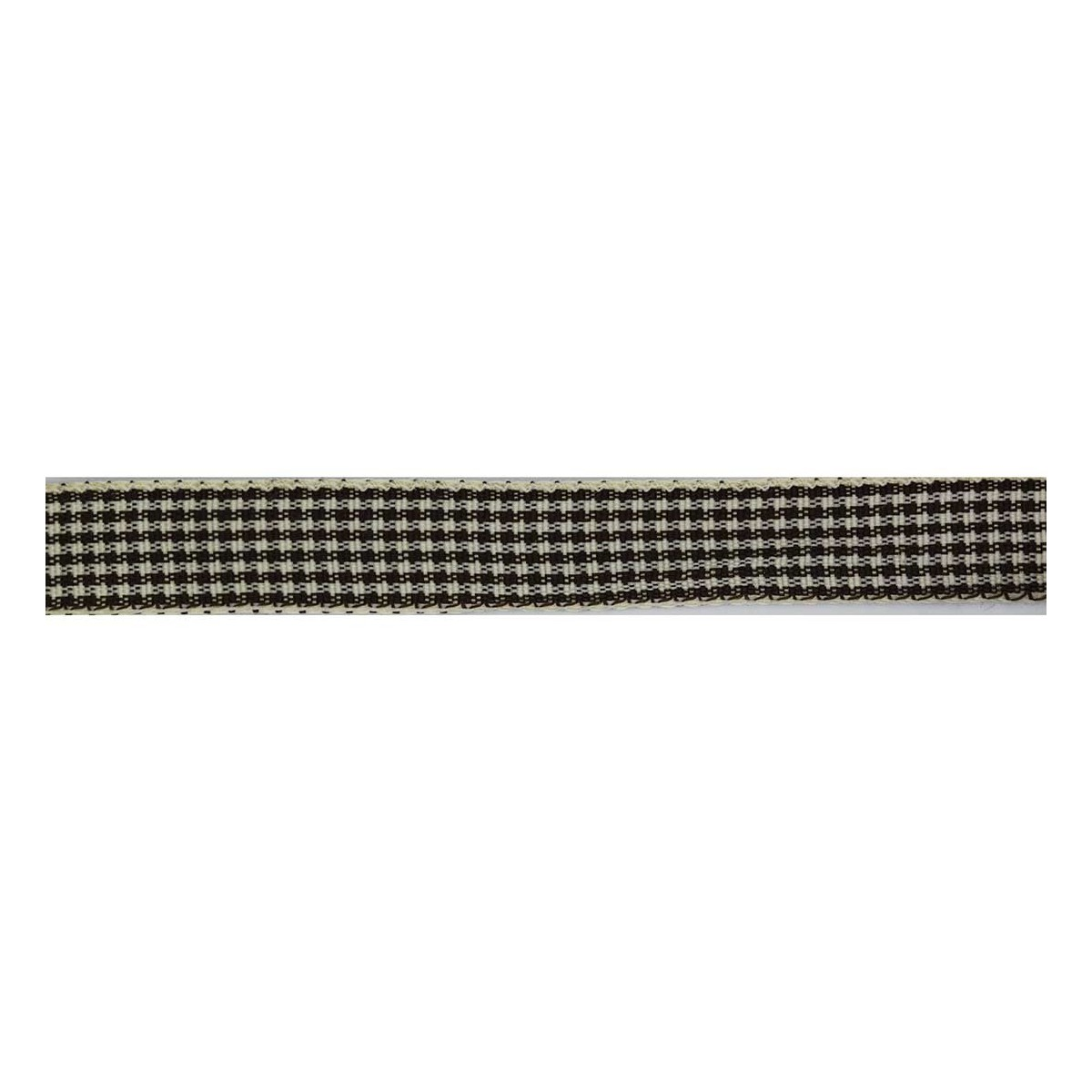 Checkered Ribbon 13mm 18 metres