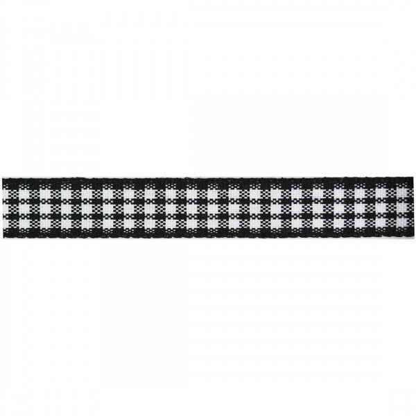 Checkered Ribbon 10mm 24 metres