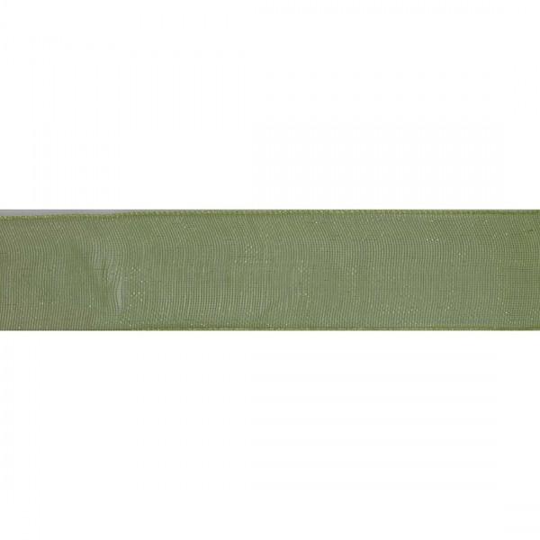 Organza Verde Muschio