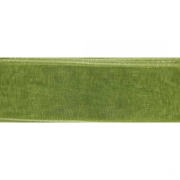 Organza Verde Muschio Rotolo