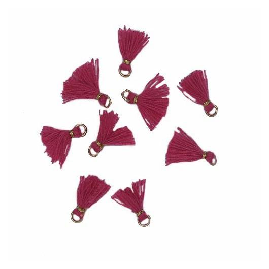 Nappina micro Fuchsia 10mm 5pz