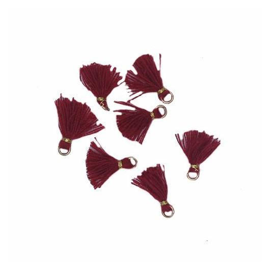 Nappina micro Bordeaux 10mm 5pz