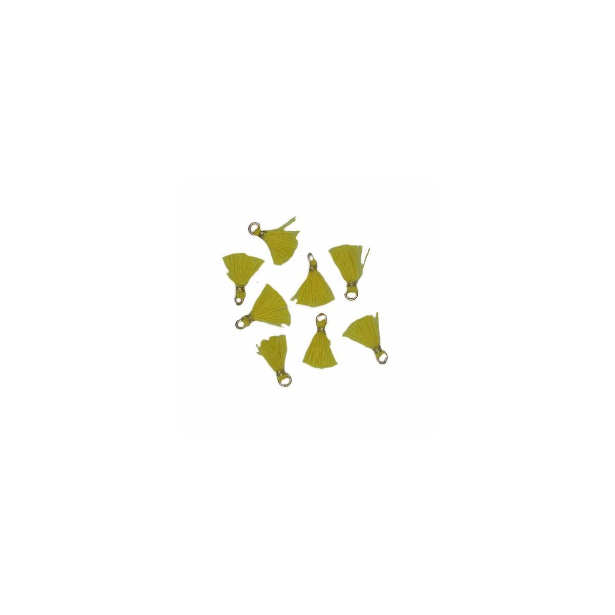 Nappina micro giallo 10 mm 5pz