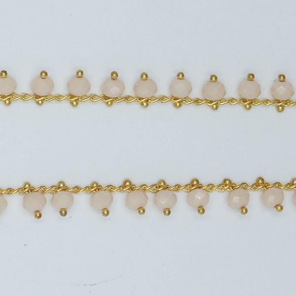 Catena con Cristalli Pendenti Silkl 6 mm