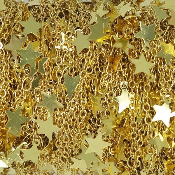 Catena con Stelline pendenti oro